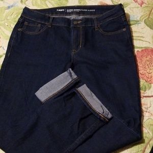 Old Navy cropped jeans